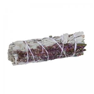Bündel weisser Salbei mit Lavendel, ca. 30 Gramm