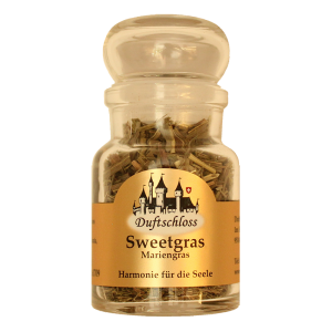 Sweetgras - Räucherwerk, im 60 ml Glas