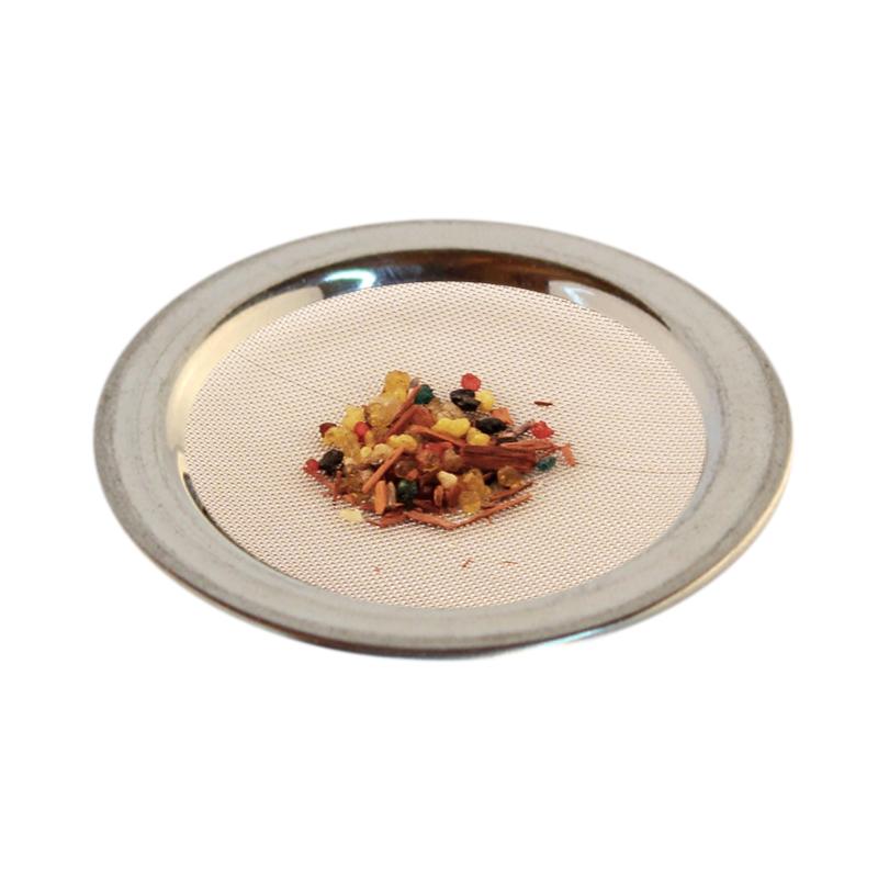 Räuchersieb Stahlblech, 9.0 cm mittelgross