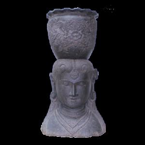 dekorationsartikel buddha figuren figuren aus stein. Black Bedroom Furniture Sets. Home Design Ideas