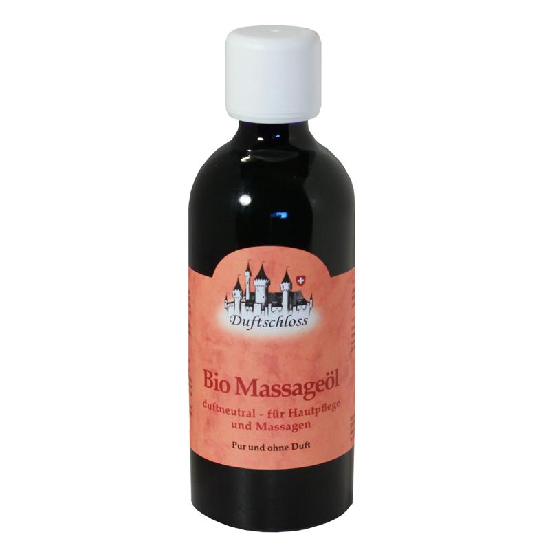 Bio Massageöl - duftneutral, 100 ml