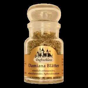 Damiana Blätter - Räucherwerk, im 60 ml Glas