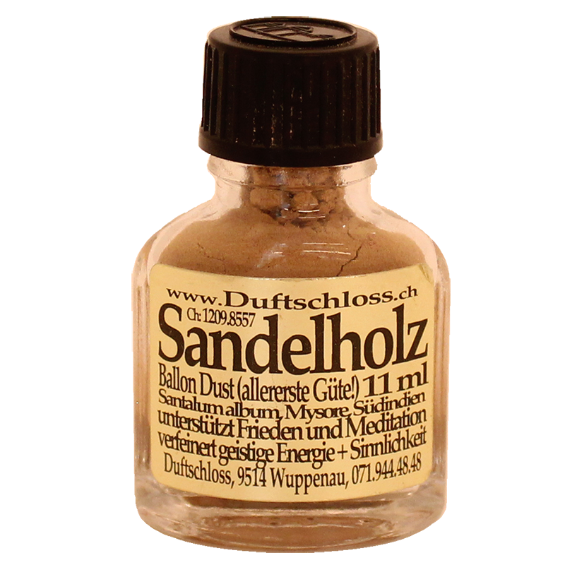 Sandelholz Pulver, (Balloon Dust) - Räucherwerk, 11 ml