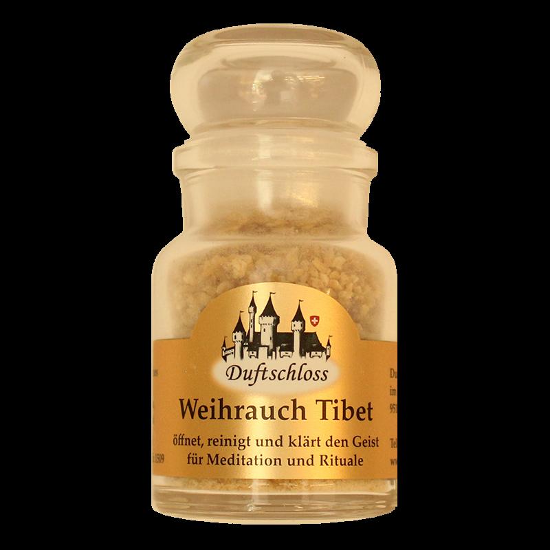Weihrauch-Tibet - Räucherwerk, im 60 ml Glas