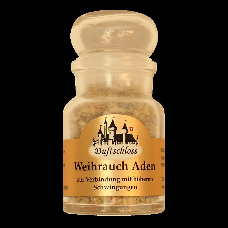 Weihrauch-Aden - Räucherwerk, im 60 ml Glas