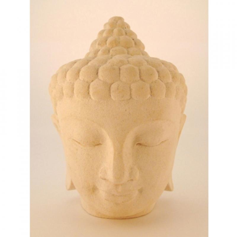 Sandstein Figur, 4 Kg, handgeschnitzt, BU401