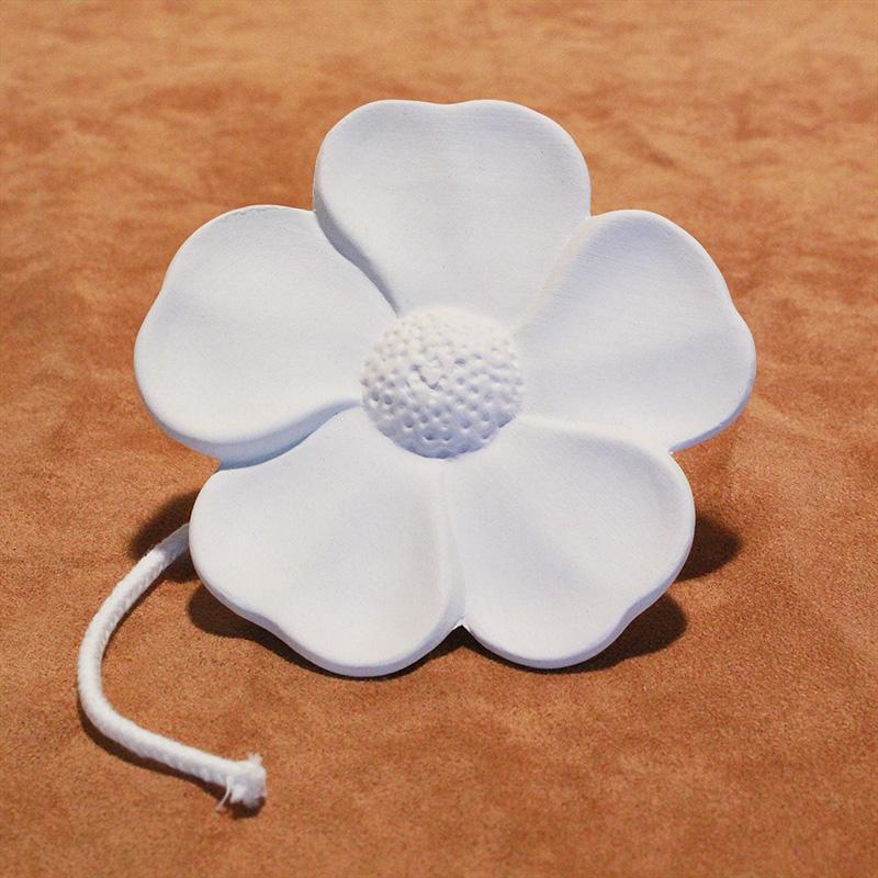 DS7.57 Duftstein mit Docht - Blume gross