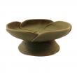 Räucherschale, aus Ton Räucherschale, aus Ton, grüne Blume RZ04